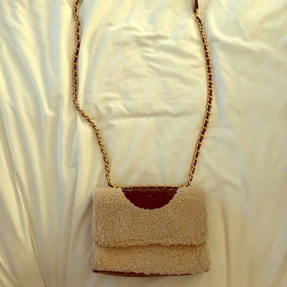 Tory Burch Handbags - Tory Burch Shearling Crossbody